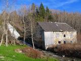 le moulin du Petit-Sault et sa chute