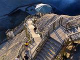 L'escalier de la chute Montmorency