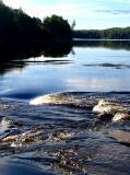 frémissement de la rivière