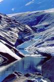 Frontière du rocher et du glacier Aletsch