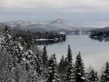 Première neige au Lac Trois Saumons
