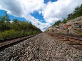 CN Rock Cut at Wade Ontario with second line
