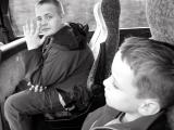 on the bus from Steornabhagh