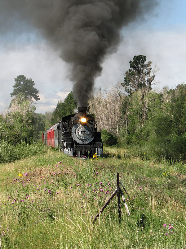 #488, just out of Chama, NM...