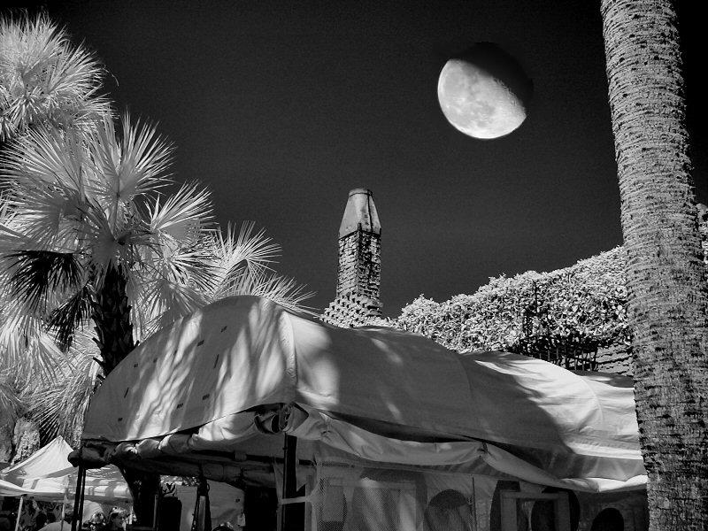 Infrared with Moon
