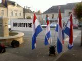 Slagwerkgroep Drumfire bezoekt Champigné, 7 - 9 october 2005