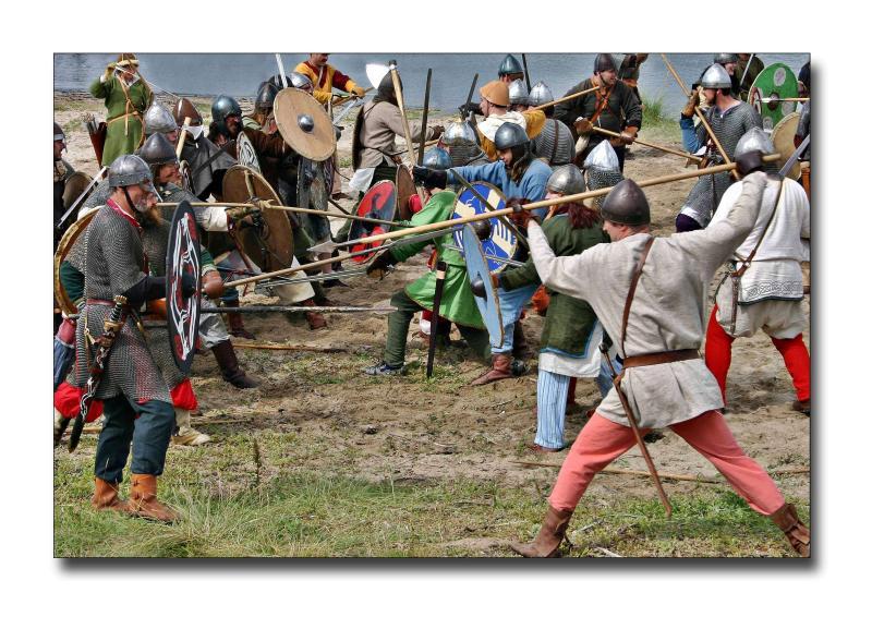 Viking Battle Scene