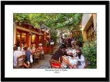 Restaurant Row in Plaka