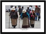 Three seasoned pilgrims