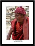 A retired monk