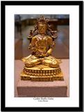 A golden Budha statue