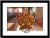 A golden diadem