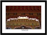 Facade and ceiling at Sera