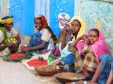 Market women in Harar