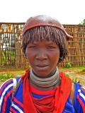 Hamer woman with calebas hat