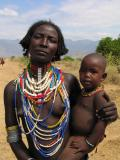 Arbore woman and child
