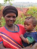 Konso woman and child