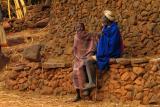 Old men in Konso village