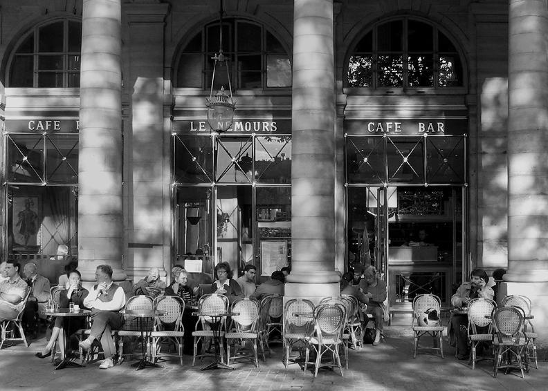 Cafe le Nemours, Palais Royal