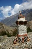 A chorten in Tangbe