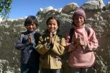 Loba children welcomed us warmly