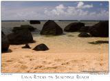 26Jun05 Lava Rocks on Sealodge Beach