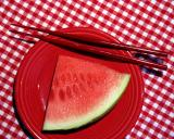 Eating Watermelon with Chopsticks