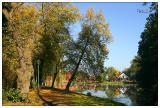 Autuum at the monastery pond III