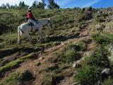 Horseback riding near Cusco