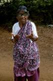 village woman, auroville