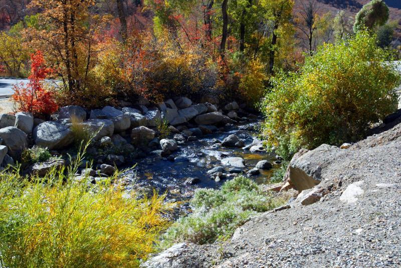 Big Cottonwood Creek Fall