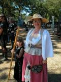 Texas Renaissance Festival Granddaughter B 10-16-05