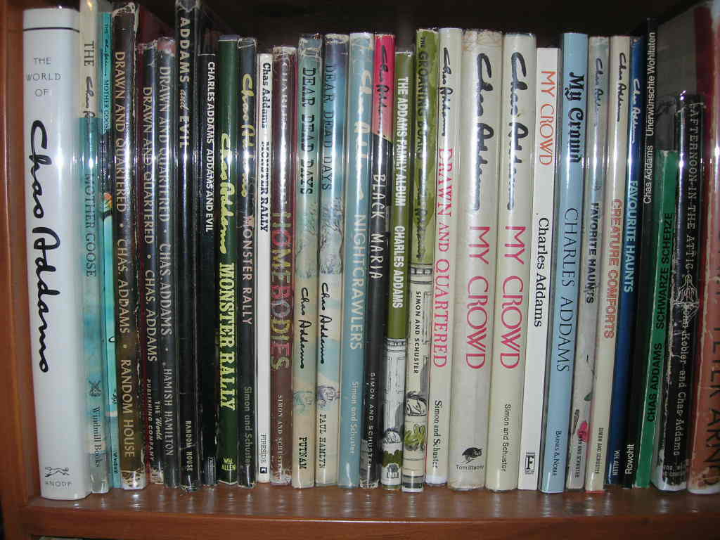 Heres what the following books look like on the shelf...