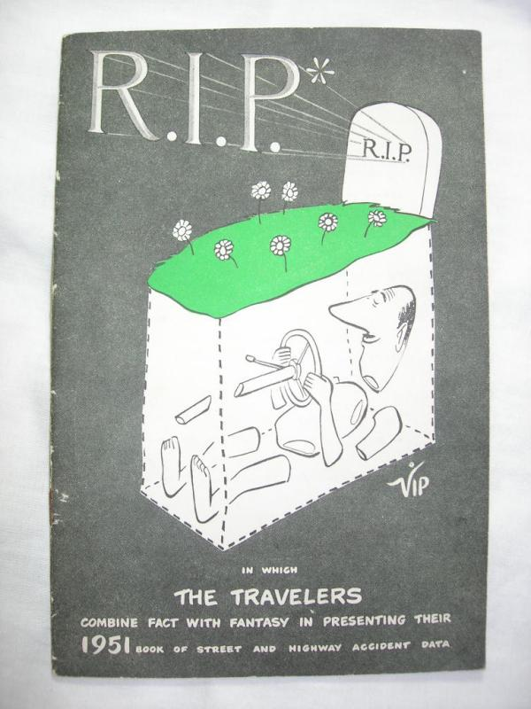 R.I.P -- The Travelers Book of Street and Highway Accident Data (1951)