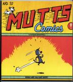 Mutts Ten:  Mutts Comics (2005) (signed with original drawing of Millie and Frank)