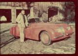 Cobean's jaguar.  He crashed it on July 2, 1951 and died from his injuries.