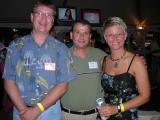 Matt Brown, Steve Zak, and Barb Welage