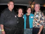 Bill and Vera Murphy and Michelle and Tom DeJonge