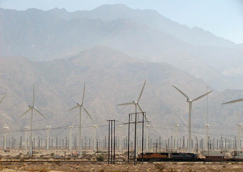 Desert near Palm Springs