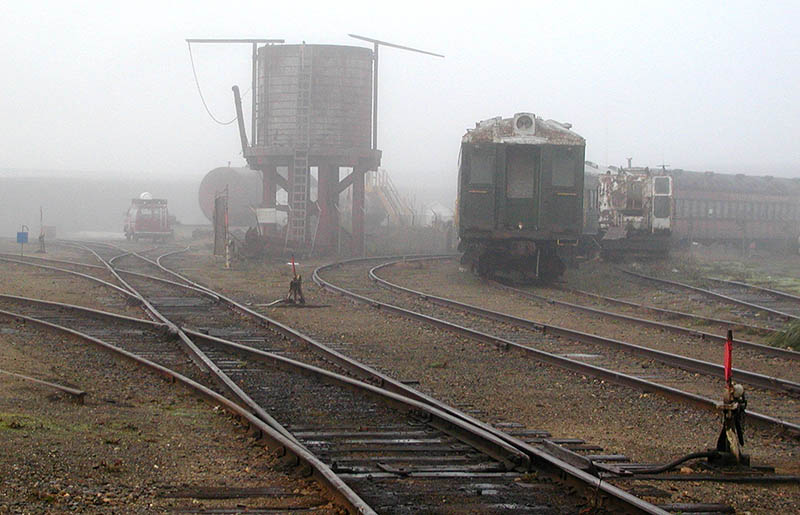 Skunk train yard