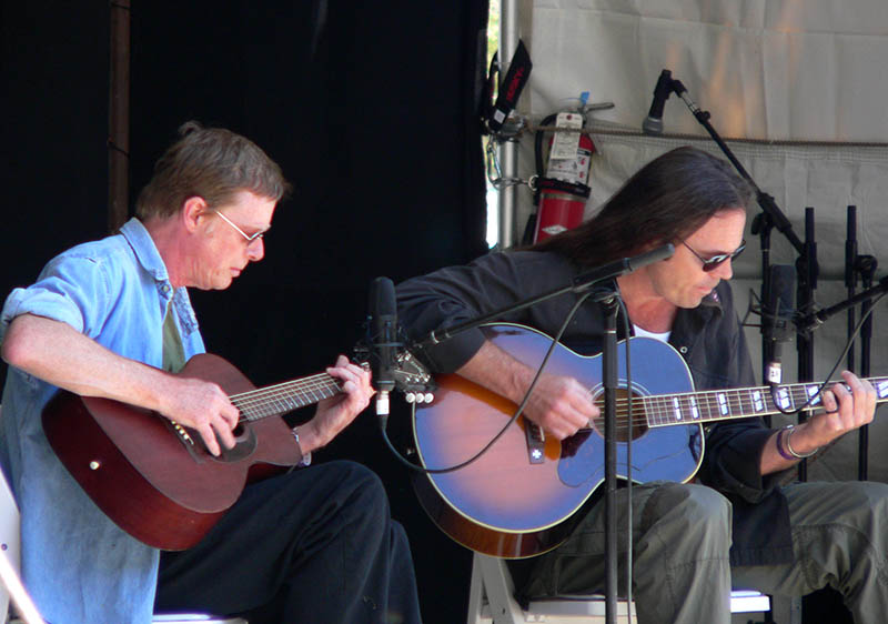 Kevin Welch and Kieran Kane