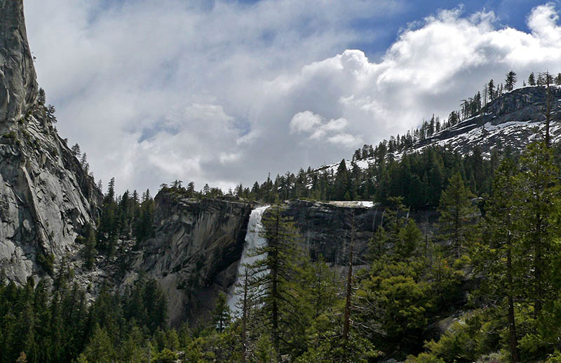 Nevada Fall and incoming snowstorm