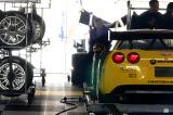 Corvette paddock