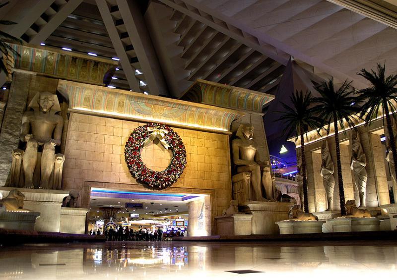 Luxor Hotel Hall
