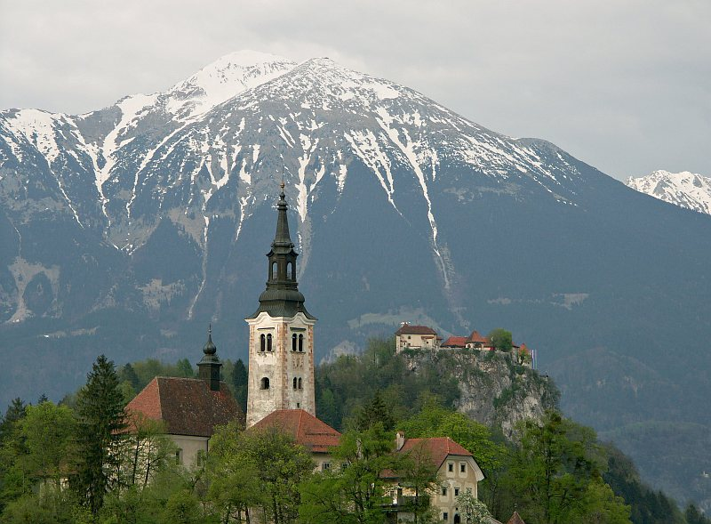 Church of the Assumption, Bled