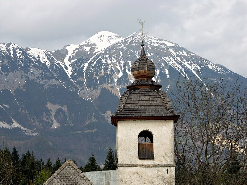 St Catherines Church, near Bled