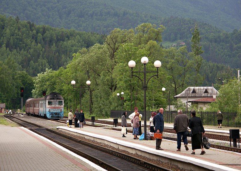 Train station, Yaremche
