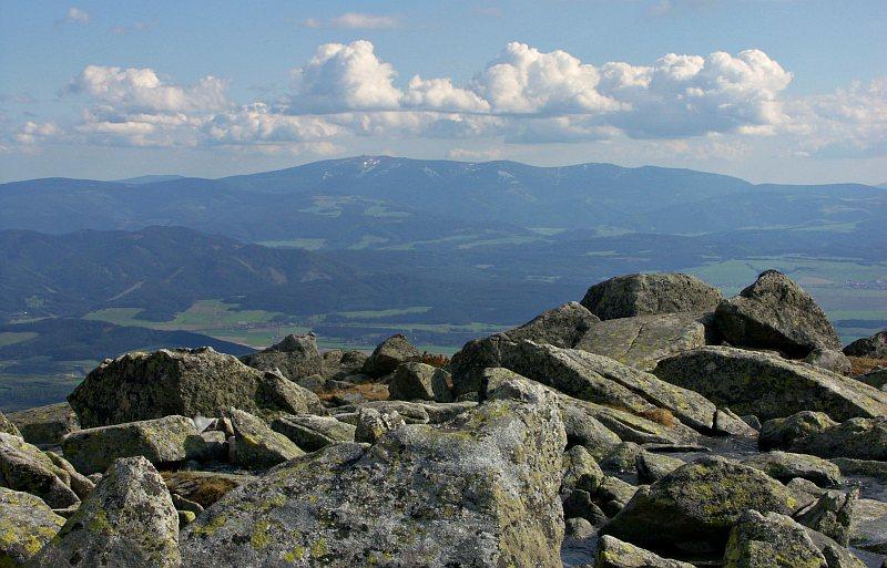 View towards the Low Tatras