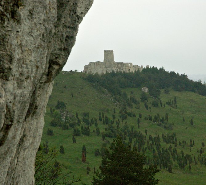 Spišský hrad, from Drevenik