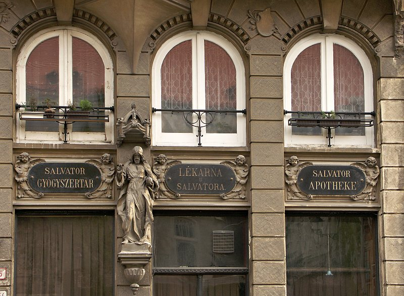 Bratislava - trilingual pharmacy
